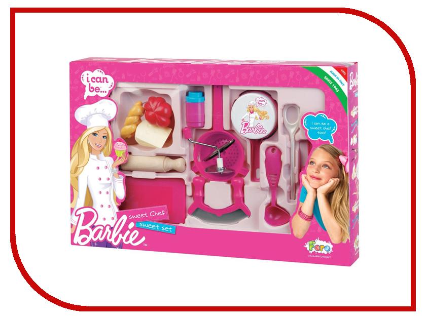Игра Faro Большой овощной набор Barbie 2714 игрушечная посуда faro большой набор посуды