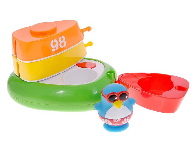 Игрушка Игрушка Toy Target Лодка с шлюпками 23141 игрушка