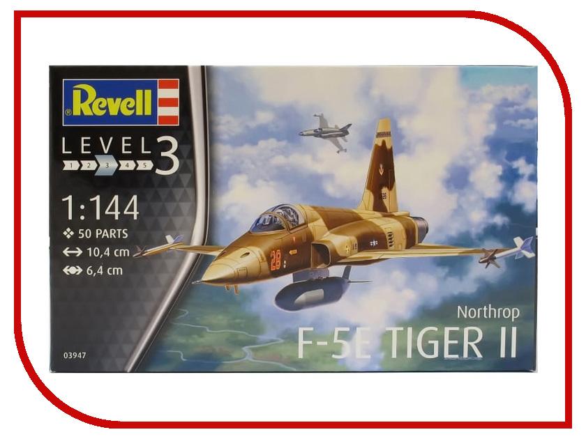 Сборная модель Revell Истребитель F-5E Tiger 03947R самолеты и вертолеты revell набор со сборной моделью истребитель dassault rafale m