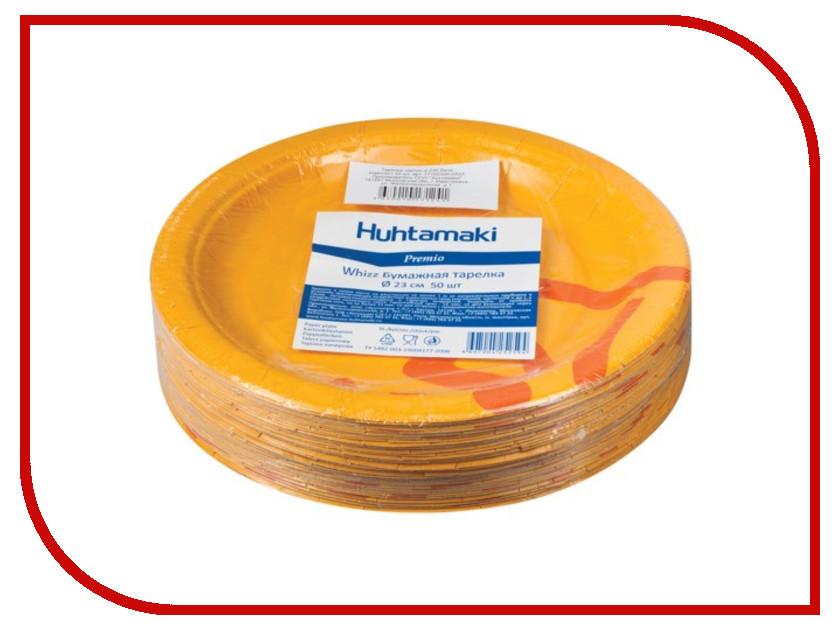 Одноразовые тарелки Huhtamaki Whizz 230mm 50шт 602322