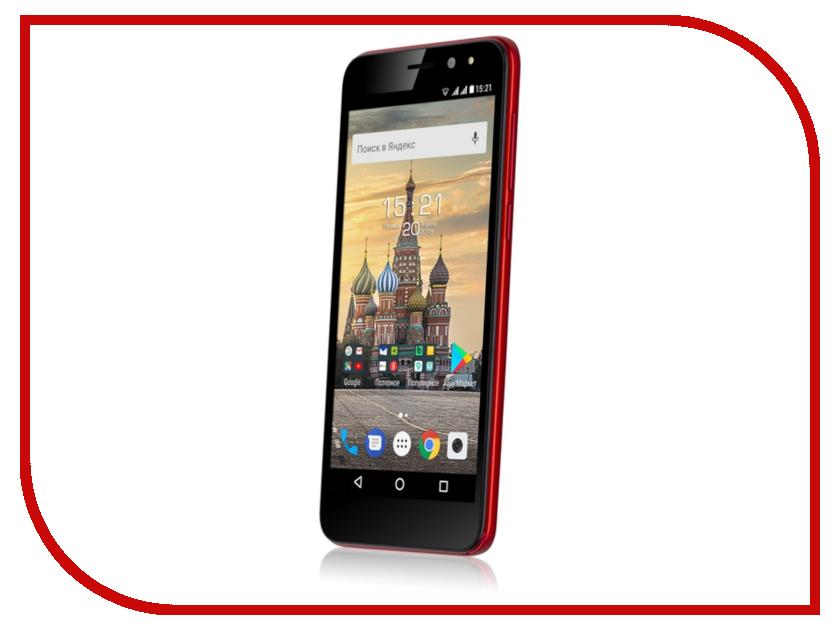 Сотовый телефон Fly Life Compact Red цена и фото