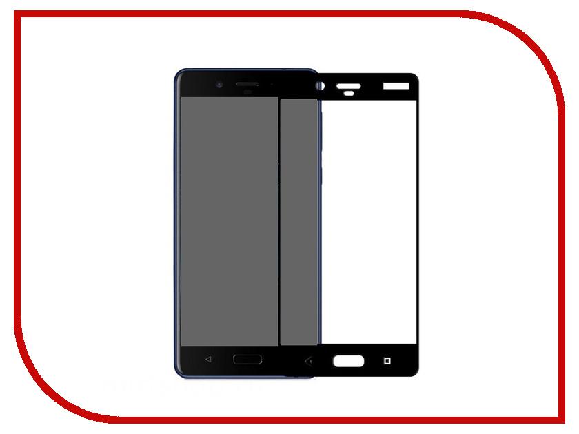 Аксессуар Защитное стекло для Nokia 8 Onext Sirocco 3D Black 41614 аксессуар защитное стекло onext 3d для apple iphone 7 red 41325