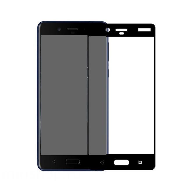 Защитное стекло Onext для Nokia 8 Sirocco 3D Black 41614