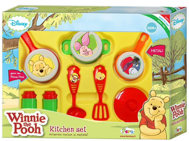 Кухонный набор посуды Faro Winnie The Pooh 5314 цена 2017