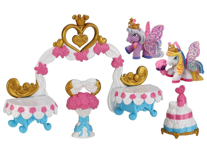 Игрушка Игровой набор Dracco Filly Свадебная арка D760002-3850 игровой набор волшебная семья alyssa filly