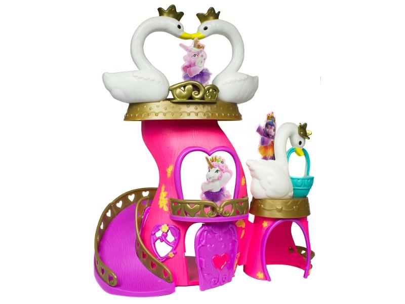 Игрушка Игровой набор Dracco Filly Балерина Лебединый замок D174006-00B0 игровой набор волшебная семья alyssa filly