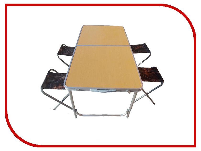Набор складной мебели Hoxwell 120x60x56cm + 4 стула