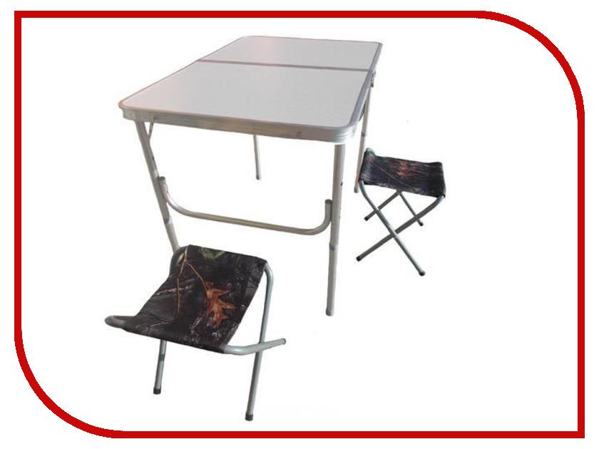 Набор складной мебели Hoxwell 120x60x56cm + 2 стула