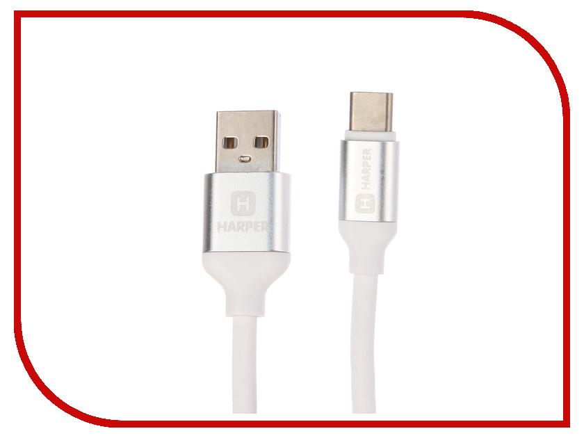 все цены на Аксессуар Harper SCH-730 USB - USB Type-C 1m White онлайн