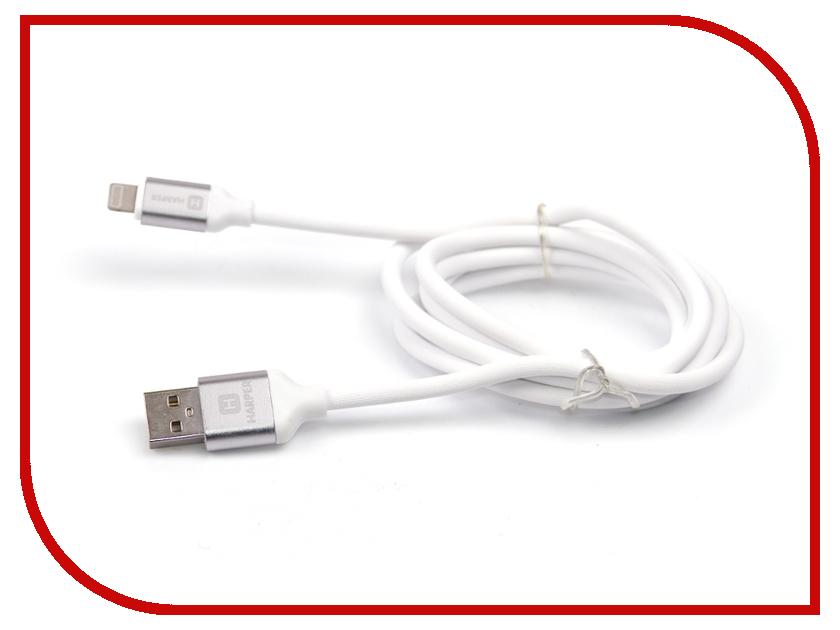 все цены на Аксессуар Harper SCH-530 USB - Lightning 1m White онлайн