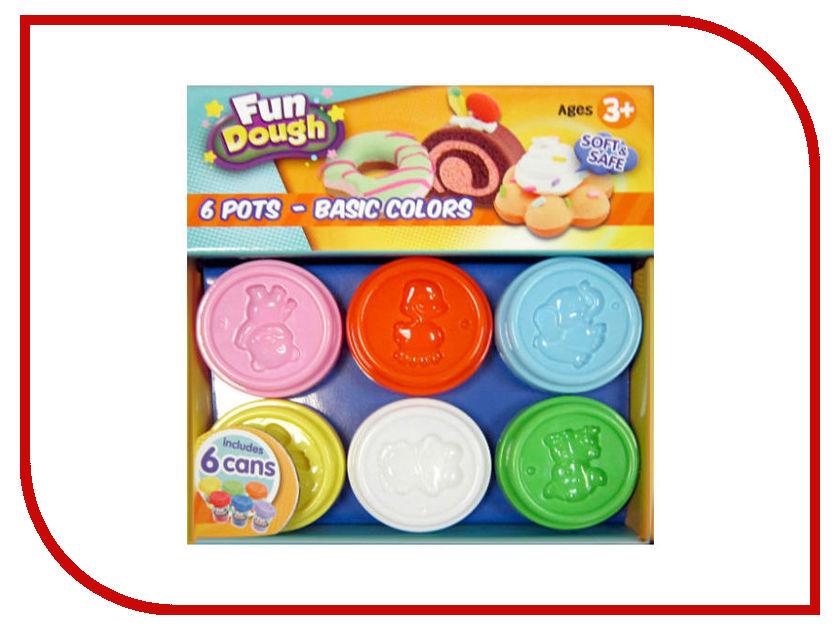 Набор для лепки Toy Target Набор пластилина 6 цветов 88004