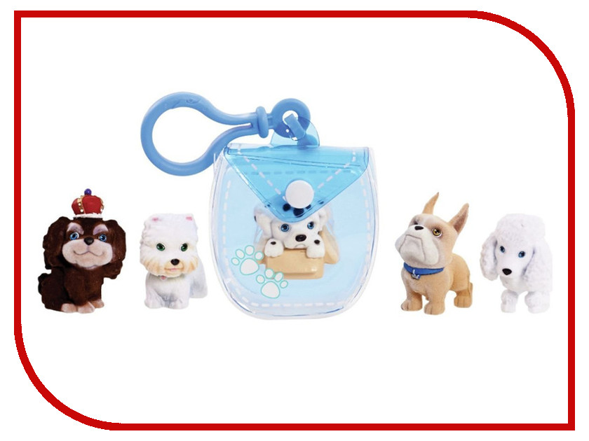 Игра Just Play Брелок-сумочка Light-Blue 48180-T just play just play мягкая игрушка собачка кэнди и ее щенки