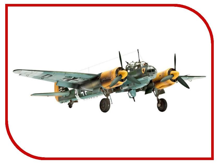 Сборная модель Revell Самолет Бомбардировщик Junkers Ju 88A-4 04672R самолеты и вертолеты revell сборная модель сборная модель пассажирский самолет dhc 6 twin otter 1 72