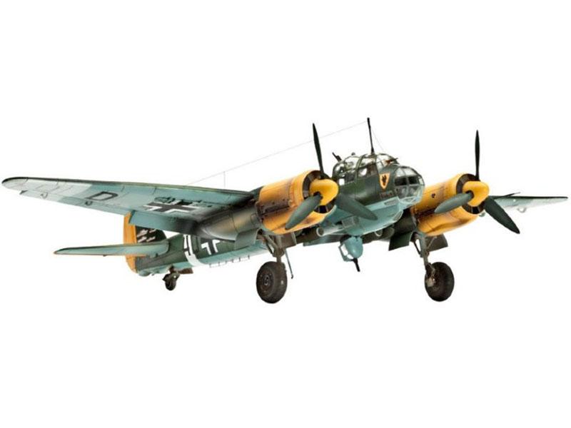 Сборная модель Revell Самолет Бомбардировщик Junkers Ju 88A-4 04672R