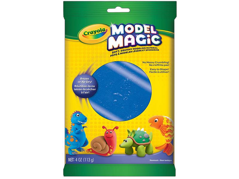 Набор для лепки Crayola Волшебный пластилин Blue 57-4442 crayola набор кисточек для красок 5шт crayola