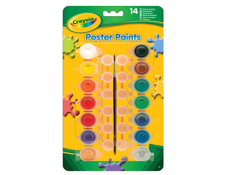 Набор красок Crayola 3978 набор красок crayola poster paints