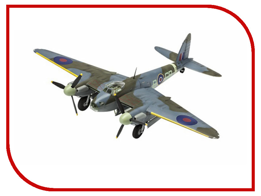 Сборная модель Revell Самолет Бомбардировщик D.H. Mosquito B Mk.IV 3923 revell самолет бомбардировщик боинг b 17g летающая крепость американский
