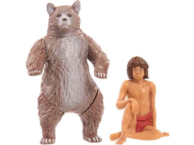 Набор фигурок Just Play Книга Джунглей - Балу и Маугли фигурки книга джунглей балу и маугли