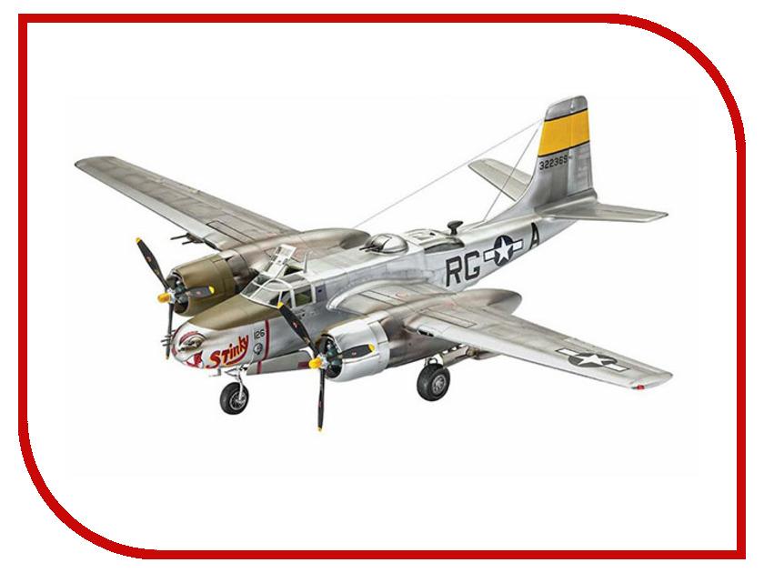 Сборная модель Revell Самолет Бомбардировщик A-26B Invader 3921 revell самолет бомбардировщик боинг b 17g летающая крепость американский