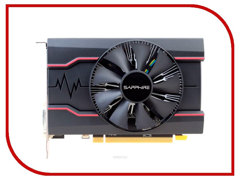 Видеокарта Sapphire Pulse Radeon RX 550 1206Mhz PCI-E 3.0 2048Mb 7000Mhz 128 bit DVI HDMI HDCP RX 550 2G OC 11268-03-20G цены