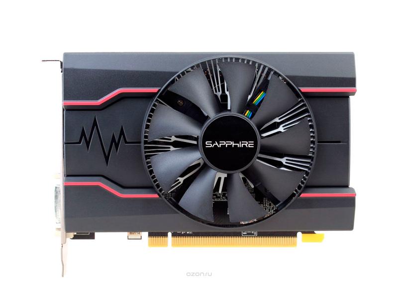 Видеокарта Sapphire Pulse Radeon RX 550 1206Mhz PCI-E 3.0 2048Mb 7000Mhz 128 bit DVI HDMI HDCP RX 550 2G OC 11268-03-20G видеокарта msi radeon rx 560 1196mhz pci e 3 0 4096mb 7000mhz 128 bit dvi hdmi hdcp rx 560 aero itx 4g oc