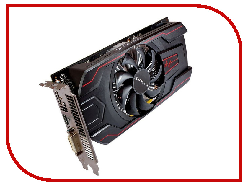 Видеокарта Sapphire Pulse Radeon RX 560 1226Mhz PCI-E 3.0 2048Mb 6000Mhz 128 bit DVI HDMI HDCP RX 560 2G 11267-19-20G видеокарта пк sapphire radeon r7 250e 925mhz pci e 3 0 1024mb 4500mhz 128 bit dvi hdmi hdcp 11215 19 20g