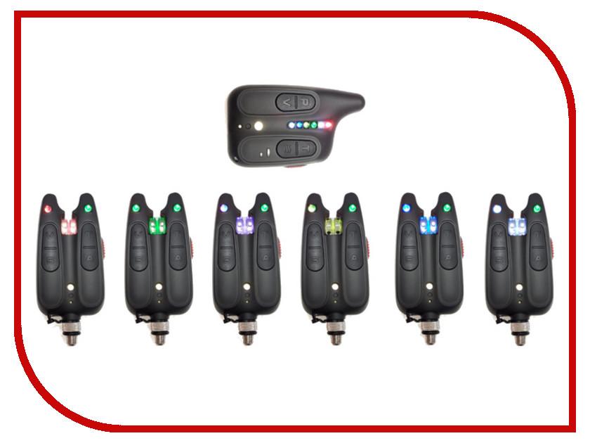 Сигнализатор поклевки Hoxwell HL 116 - Набор с пейджером 6+1