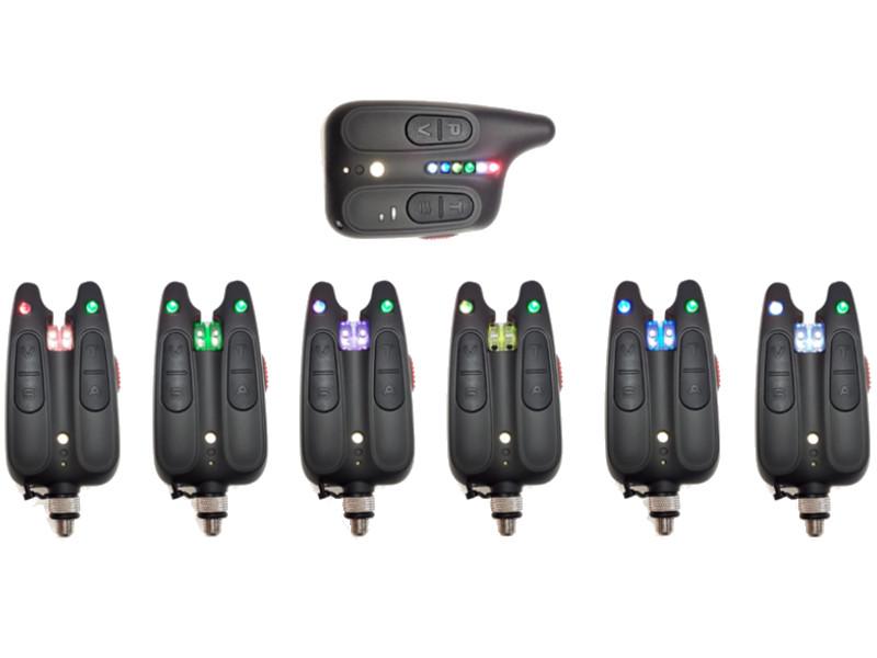 Сигнализатор поклевки Hoxwell HL 116 - Набор с пейджером 6+1 аксессуар подъемник hoxwell 1 5x1 5m
