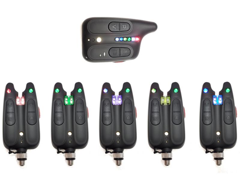 Сигнализатор поклевки Hoxwell HL 115 - Набор с пейджером 5+1 аксессуар подъемник hoxwell 1 5x1 5m