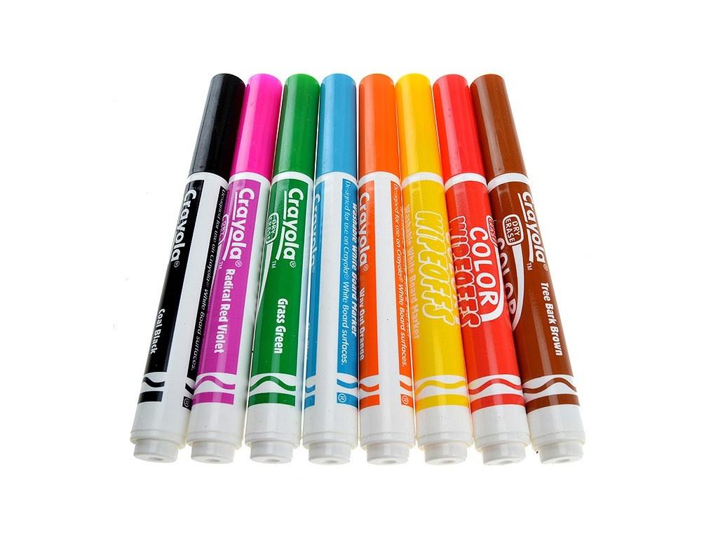 Фломастеры Crayola 8 цветов 8223 фломастеры crayola 12 цветов 58 8329