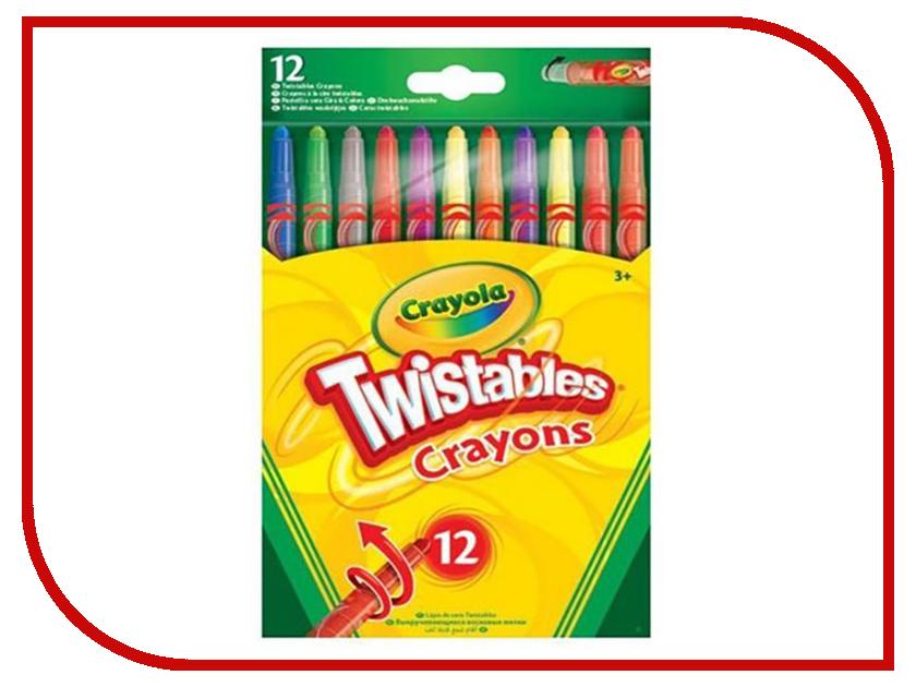 Восковые мелки Crayola 12шт 52-8530