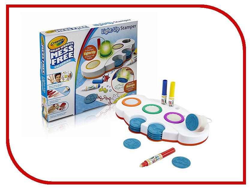 Crayola Набор светящихся печатей Color Wonder 75-2487 раскраска crayola color wonder тачки 12787