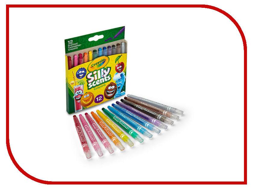 Ароматизированные мини-восковые мелки Crayola 12шт 52-9712