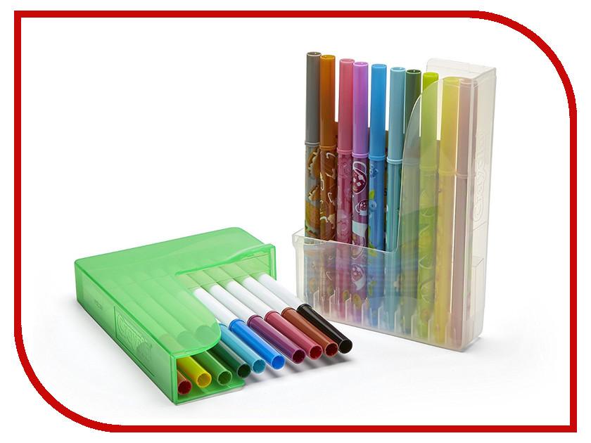 Фломастеры парные Crayola 20шт 04-6829C раскраска фломастеры crayola принцессы color wonder 75 1919