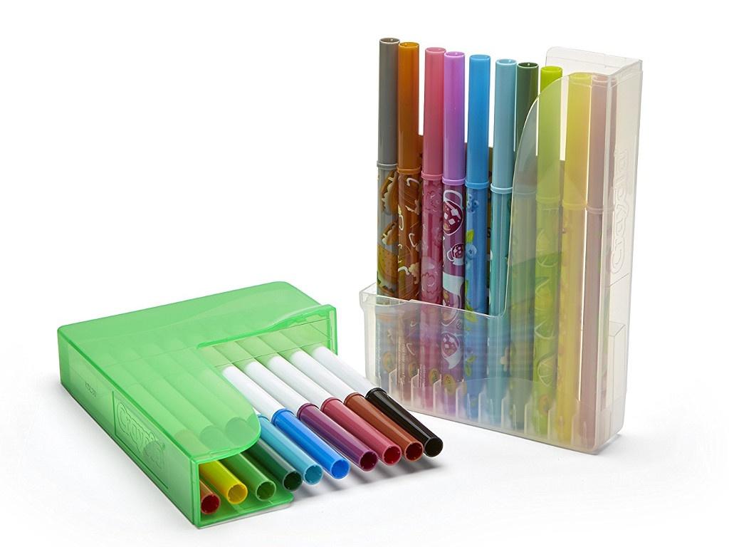 Фломастеры парные Crayola 20шт 04-6829C фломастеры crayola 12 цветов 58 8329