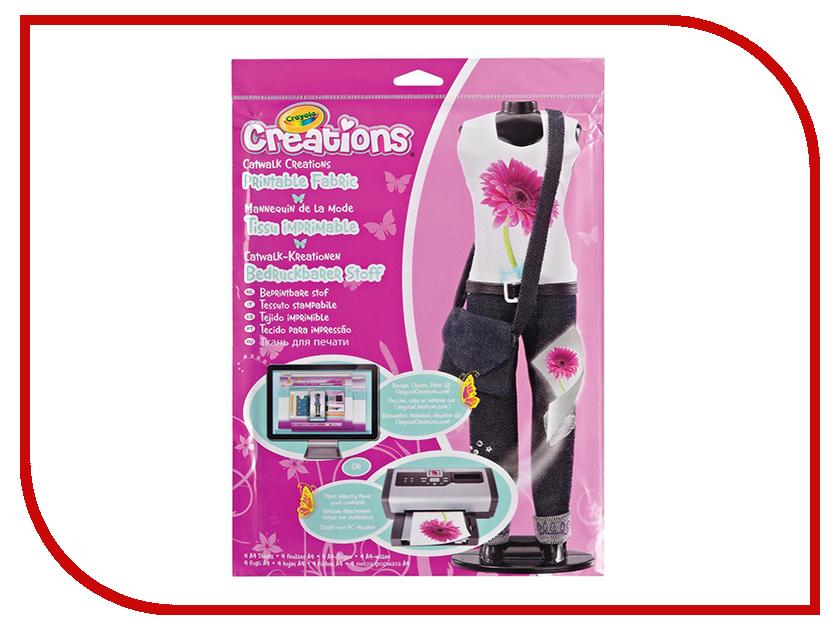 Набор Crayola Подиум Ткань для принтов 04-1201C crayola 0008c