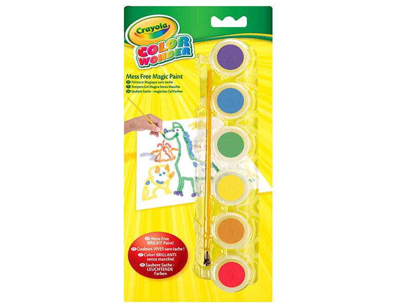 Краски Crayola 6 цветов 75-0220