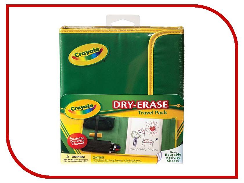 Пенал Crayola Набор для путешествий Dry Erase 98-8634 game play crayola dry erase activity center activity center dry erase activity center dry toy child kid