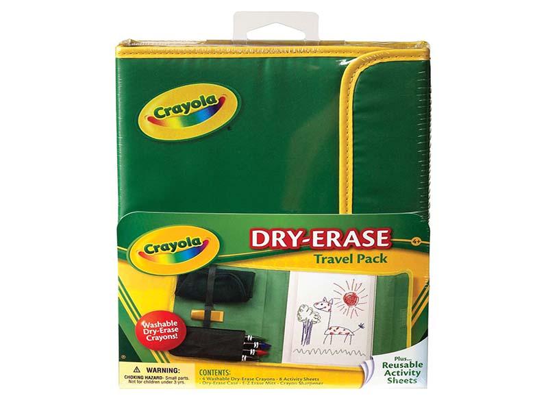 Пенал Crayola Набор для путешествий Dry Erase 98-8634