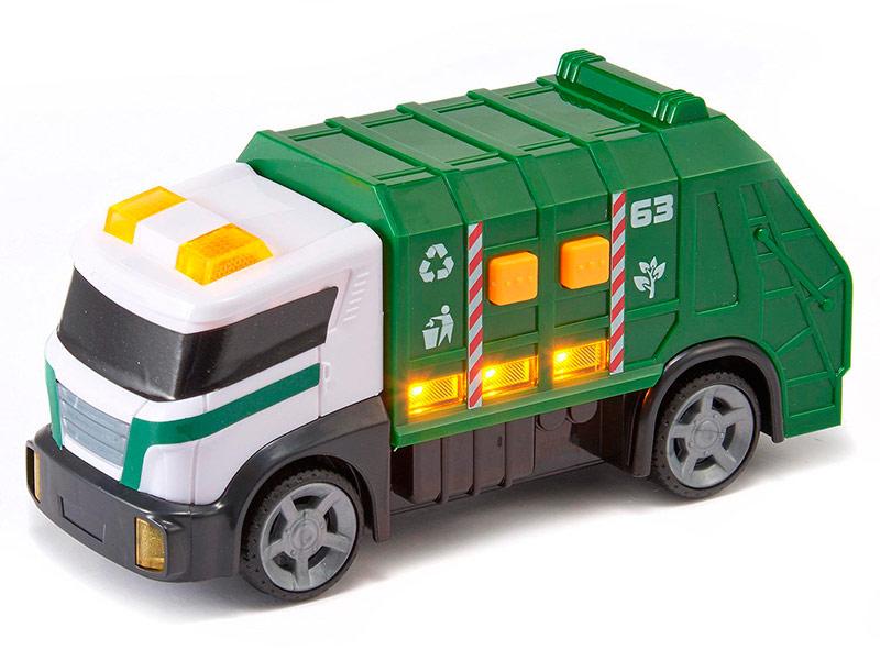 Игрушка HTI Roadsterz Мини мусоровоз 1416561 машины hti машинка roadsterz пожарная
