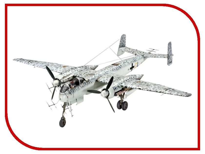 Сборная модель Revell Самолет Истребитель Heinkel He-219 Филин 04666R самолеты и вертолеты revell сборная модель сборная модель пассажирский самолет dhc 6 twin otter 1 72