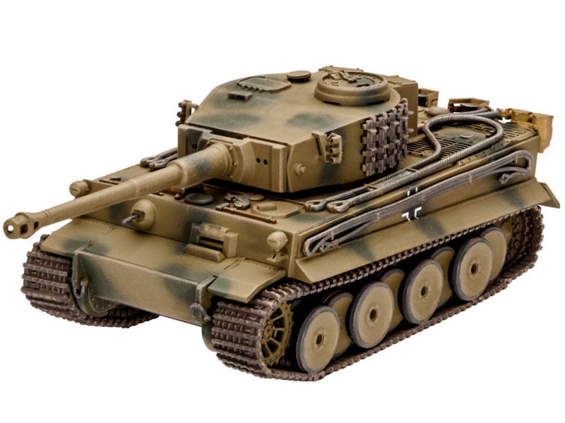 лучшая цена Сборная модель Revell Танк PzKpfw VI Ausf. H Tiger 03262R