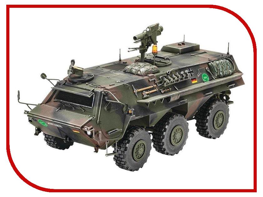 Сборная модель Revell Бронетранспортёр TPz 1 Fuchs 03256R кисть revell 1