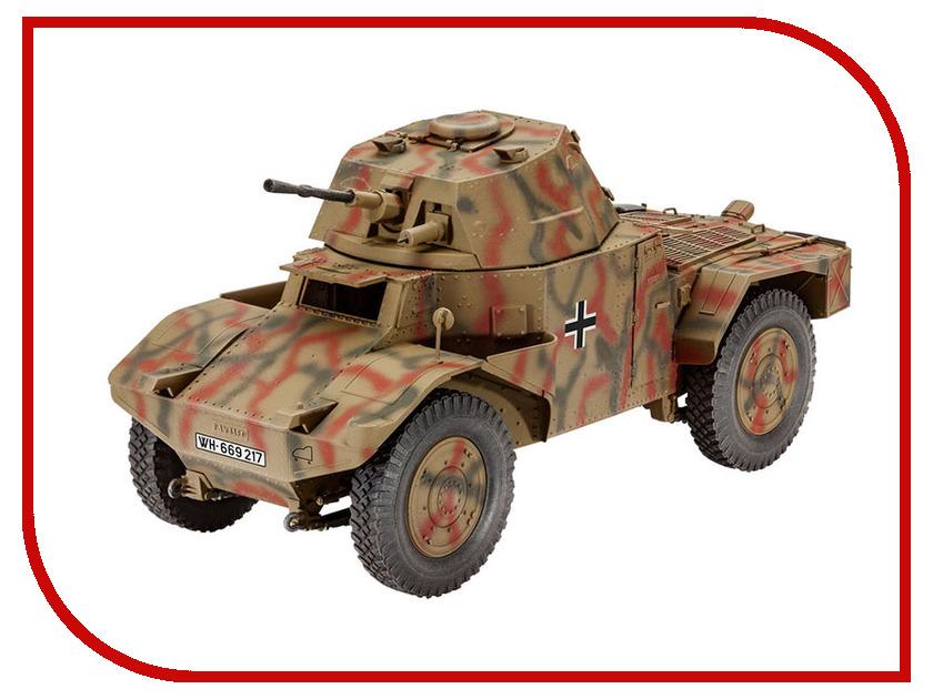 Сборная модель Revell Разведывательный автомобиль Armoured Scout Vehicle P 204 (f) 3259 cogo 13351 military building block sets armoured fighter helicopter 400pcs educational diy bricks toys