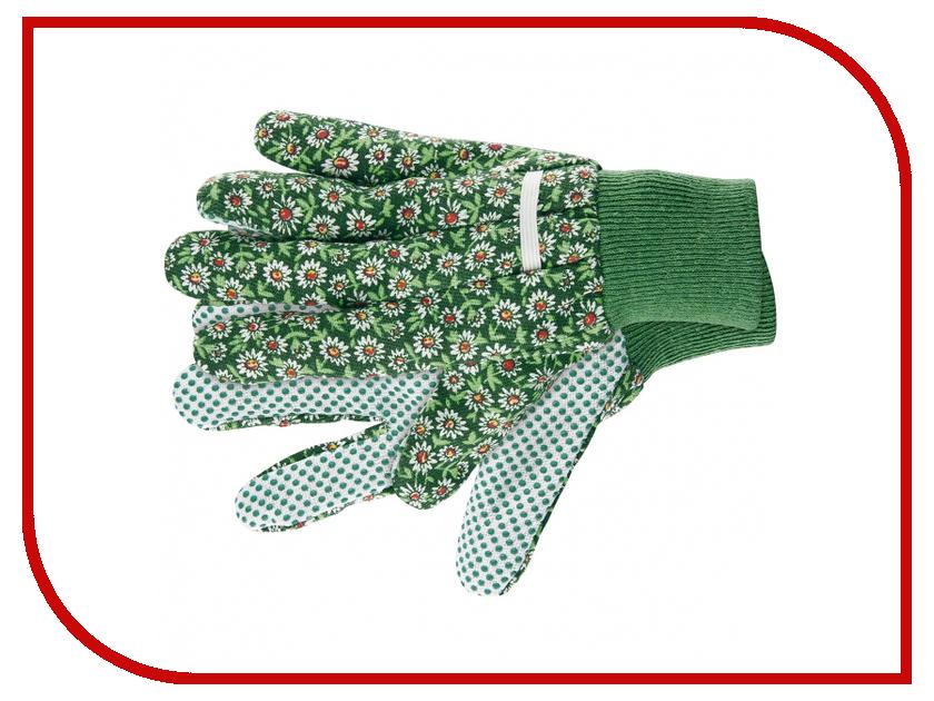 Аксессуар Перчатки Palisad садовые хб ткань с ПВХ точкой M 67762