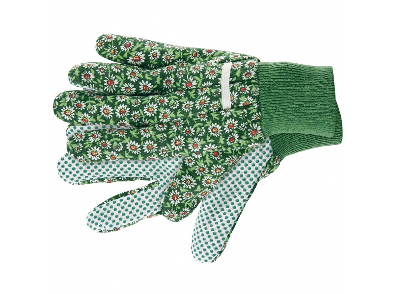 Перчатки Palisad садовые хб ткань с ПВХ точкой S 67761