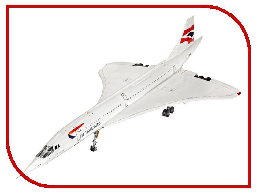 Сборная модель Revell Самолет Concorde 04257R кисть revell 1