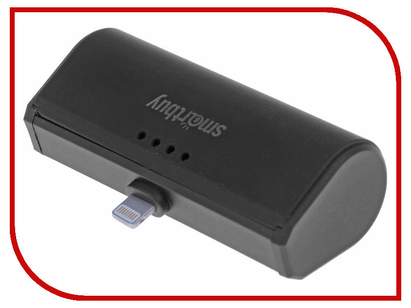 Аккумулятор SmartBuy Turbo-8 2200mAh Lighting 8 pin Black SBPB-100 10pcs free shipping ea1532a tea1532a lcd power plate patch 8 pin ic 100% new original quality assurance