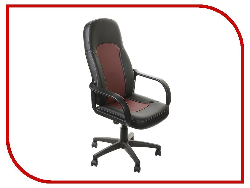 Компьютерное кресло TetChair Парма Black-Bordo компьютерное кресло tetchair step ромашки на зеленом