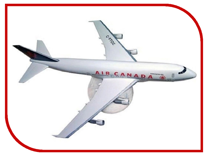 Сборная модель Revell Cамолет Пассажирский Boeing 747-200 04210R самолеты и вертолеты revell сборная модель сборная модель пассажирский самолет dhc 6 twin otter 1 72